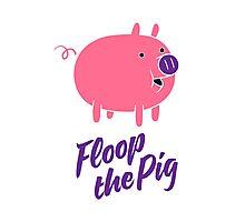 Floop the Pig Photographic Print