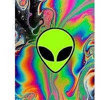 Alien Rainbow Holographic 2 Photographic Print