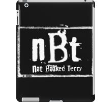 Not Booked Terry  iPad Case/Skin