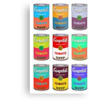 Andy Warhol Campbell's soup cans pop art Metal Print