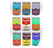 Andy Warhol Campbell's soup cans pop art Poster
