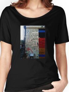 Berlin Wall - Magic & Mystery Women's Relaxed Fit T-Shirt