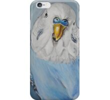 Blue Budgie iPhone Case/Skin