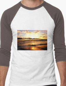 Beach Men's Baseball ¾ T-Shirt