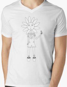 Daisy Love Mens V-Neck T-Shirt