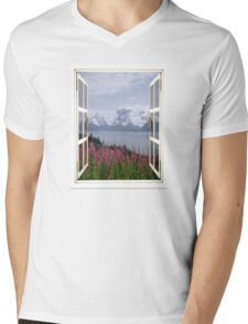 Mountain Paintbrush  Mens V-Neck T-Shirt