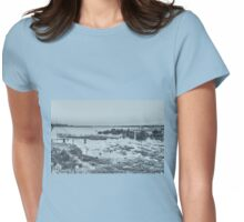 Old Barge Womens Fitted T-Shirt