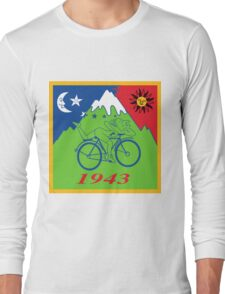 Hofmann's Bike Ride T-shirt Print Long Sleeve T-Shirt