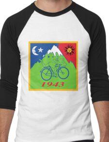 Hofmann's Bike Ride T-shirt Print Men's Baseball ¾ T-Shirt