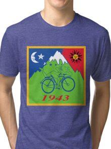 Hofmann's Bike Ride T-shirt Print Tri-blend T-Shirt