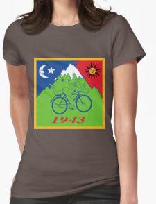 Hofmann's Bike Ride T-shirt Print Womens Fitted T-Shirt