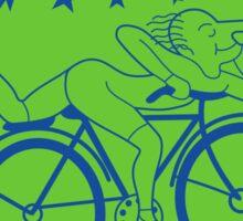 Hofmann's Bike Ride T-shirt Print Sticker