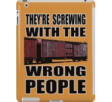 The Wrong People iPad Case/Skin