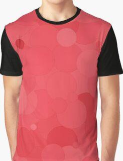 Cayenne Bubble Dot Color Accent Graphic T-Shirt