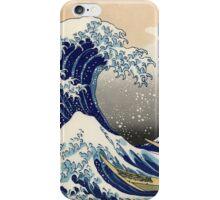 The Great Wave off Kanagawa - Katsushika Hokusai iPhone Case/Skin