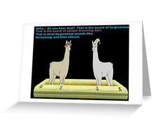 forgiveness Greeting Card