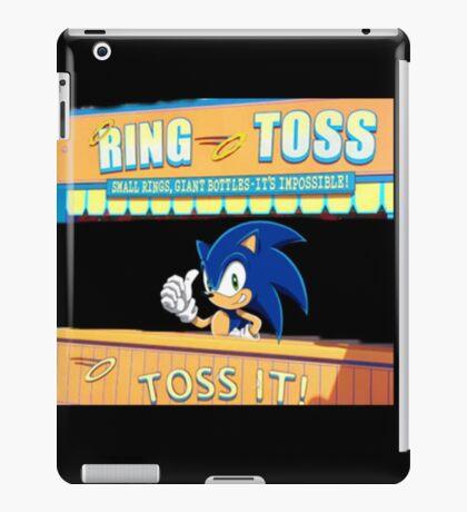 sonic ring-toss iPad Case/Skin
