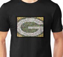 Green Bay Packers graphic art mosaic Unisex T-Shirt