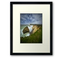 Isle of Wight seascape Framed Print