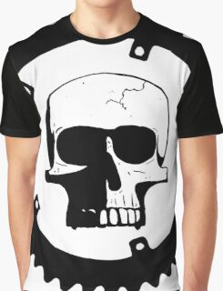 Sprocket Skull Graphic T-Shirt
