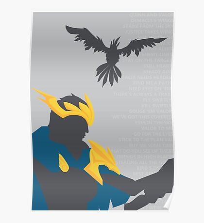 Wings of Demacia Poster