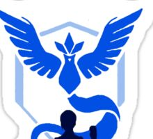 Pokemon Go Team Mystic Sticker