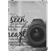 No Eye Has Seen iPad Case/Skin