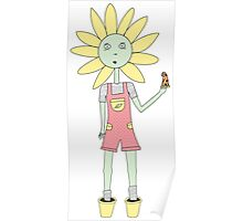 Daisy Love in colour Poster