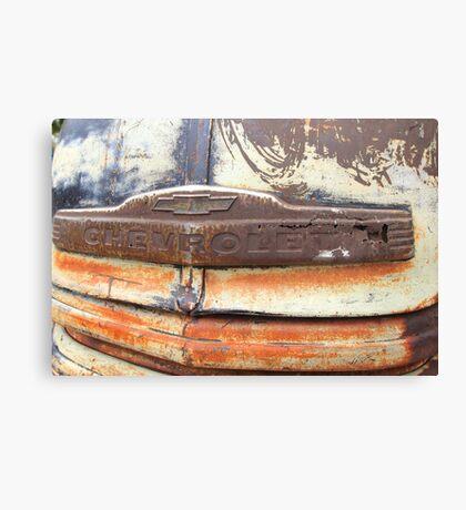 Patina Grill Canvas Print