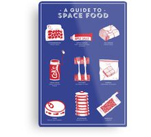 A Guide to Space Food Metal Print