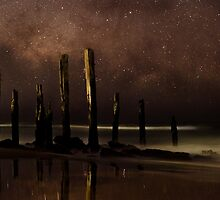 Stars over Willunga by Andrew Dickman