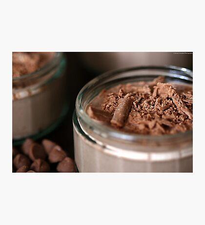 Double Chocolate Cheesecake Photographic Print