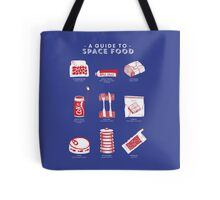 A Guide to Space Food Tote Bag