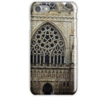 The west front, Exeter Cathedral. iPhone Case/Skin