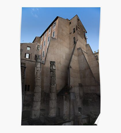 Rome, Italy - Many Centuries of History and Architecture  Poster