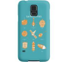 1960s Satellites Samsung Galaxy Case/Skin