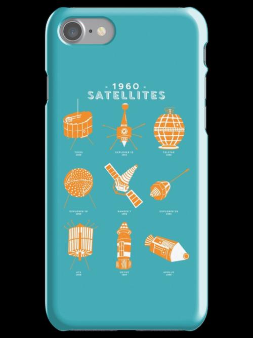 1960s Satellites by Chloe Morris