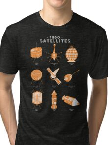 1960s Satellites Tri-blend T-Shirt