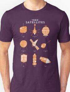 1960s Satellites Unisex T-Shirt