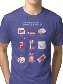 A Guide to Space Food Tri-blend T-Shirt