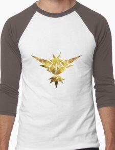 Pokemon GO - Team Yellow Instinct Men's Baseball ¾ T-Shirt
