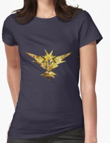 Pokemon GO - Team Yellow Instinct Womens Fitted T-Shirt