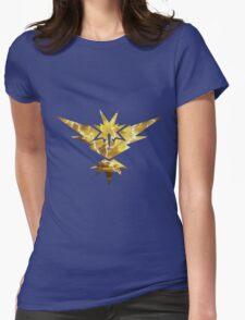 Pokemon GO - Team Yellow Instinct Womens Fitted T-Shirt