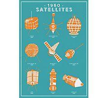 1960s Satellites Photographic Print
