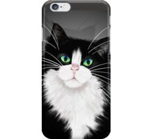 TUX-Tuxedo cats rock iPhone Case/Skin