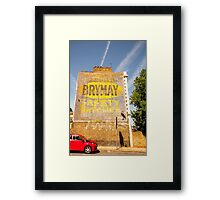 Ignition Vol. II (For your safety) @londonlights Framed Print