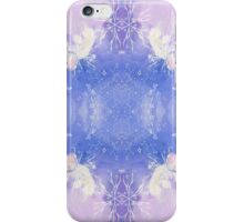 the serenity and sown flake iPhone Case/Skin