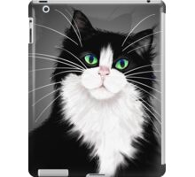 TUX-Tuxedo cats rock iPad Case/Skin