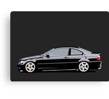 BMW e46 (Farid) Canvas Print