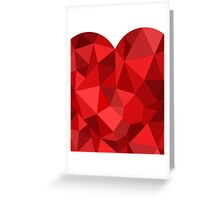 Corset - Hearts Delight Diamonds Greeting Card